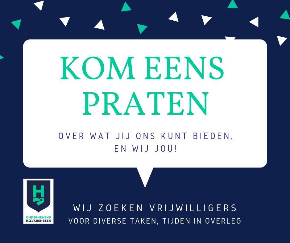 Ondernemend Hilvarenbeek - Vrijwilliger