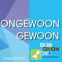 Het Kiemuur van Ongewoon Gewoon i.s.m. RIBW Brabant, voor persoonlijke groei - 25.04.2019