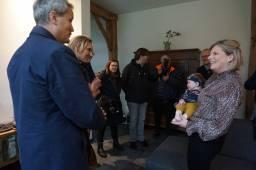 Burgemeester bezoekt Baarschot 10-02-2020