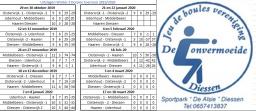 Dorpen toernooien 21-02-2020